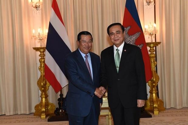 Cambodge et Thailande souhaitent promouvoir le commerce bilateral hinh anh 1