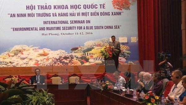 Conference internationale sur la securite environnementale et maritime en Mer Orientale hinh anh 1