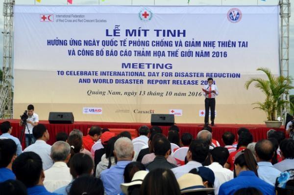 Meeting celebrant de la Journee internationale pour la prevention des catastrophes naturelles hinh anh 1