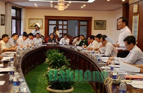 Dak Nong : Renforcement de la communication sur le bornage des frontieres Vietnam-Cambodge hinh anh 1