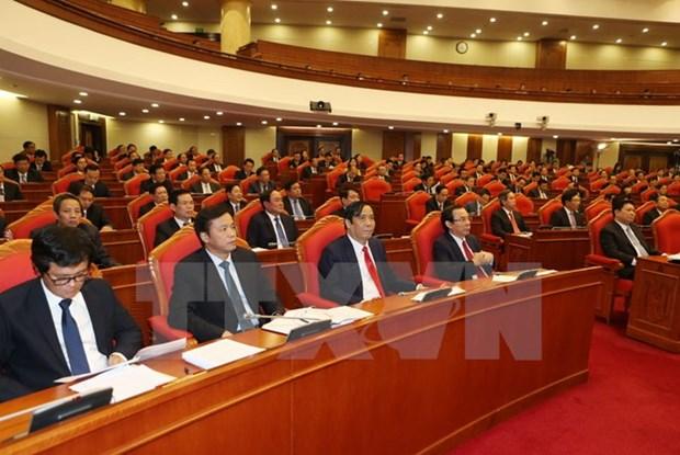 Le Comite central du PCV discutent du processus d'integration economique hinh anh 1