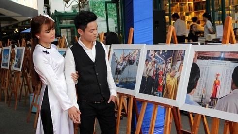 Une soixantaine de photos sur Truong Sa exposees a Ho Chi Minh-Ville hinh anh 1