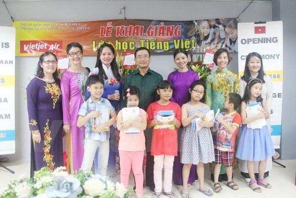 Ouverture de la premiere classe de langue vietnamienne en Malaisie hinh anh 1