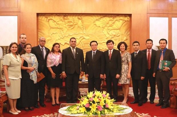 Les jeunes se donnent la main pour renforcer les relations entre le Vietnam et Cuba hinh anh 1