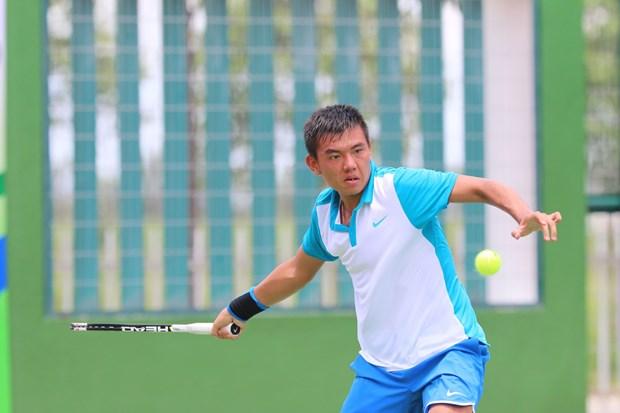 Tennis : Ly Hoang Nam saute a la 634e place mondiale hinh anh 1