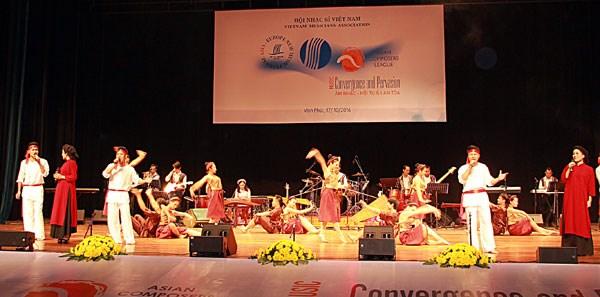 Festival de la nouvelle musique Asie-Europe : concert 