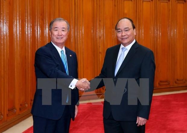 Le Premier ministre accueille des entrepreneurs japonais hinh anh 1