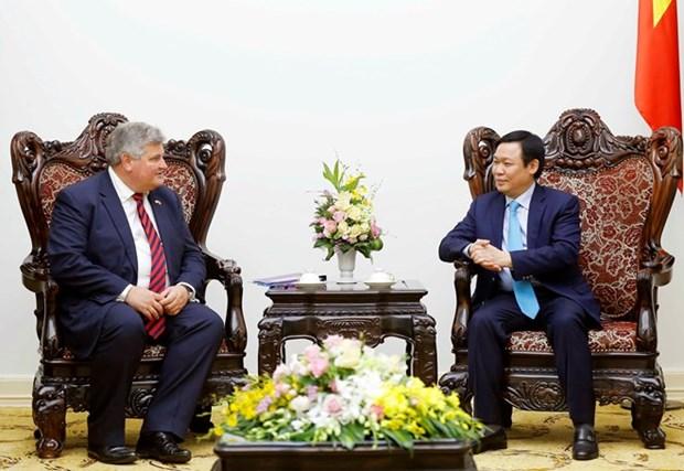 Le Royaume-Uni invite a participer au processus de restructuration economique du Vietnam hinh anh 1