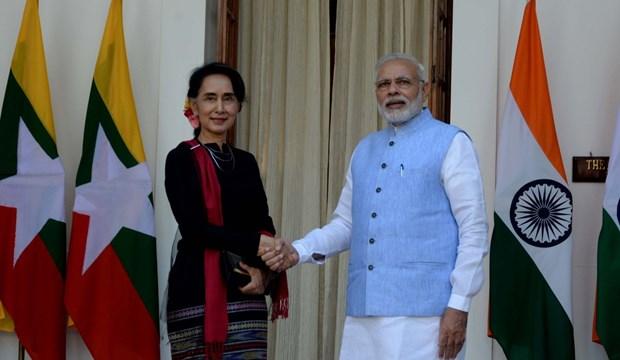 L'Inde et le Myanmar scellent une cooperation bilaterale hinh anh 1