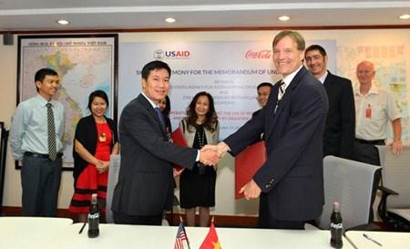 USAID & Coca-Cola promeuvent l'utilisation des energies renouvelables au Vietnam hinh anh 1