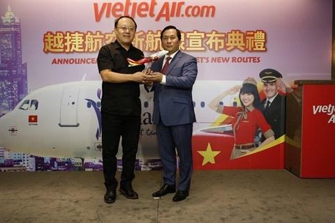 Vietjet : ouverture de 2 lignes vers Taiwan hinh anh 2
