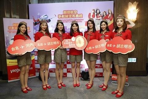 Vietjet : ouverture de 2 lignes vers Taiwan hinh anh 1