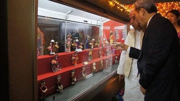 Inauguration d'un espace des poupees vietnamiennes dans un musee indien hinh anh 1
