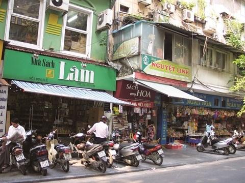 La rue Dinh Le, bastion du livre a Hanoi hinh anh 1