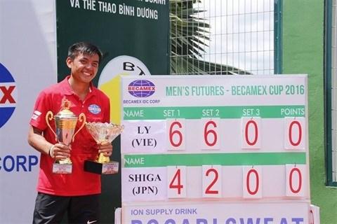 Ly Hoang Nam dans le Top 700 du classement de l'ATP hinh anh 1