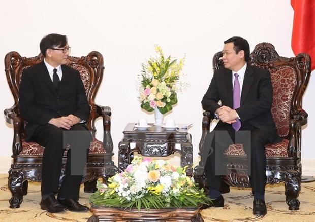 Le Vietnam et la Thailande intensifient leur cooperation dans le travail hinh anh 1