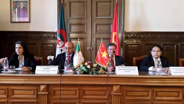 Promotion de cooperation economique Vietnam-Algerie hinh anh 2