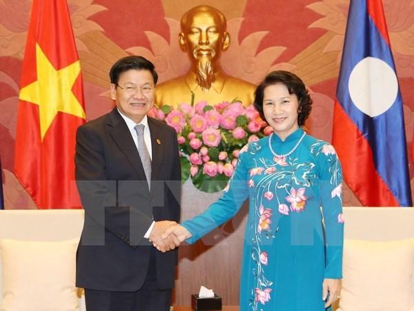 L'Assemblee nationale soutient la mise en œuvre des accords entre le Vietnam et le Laos hinh anh 1