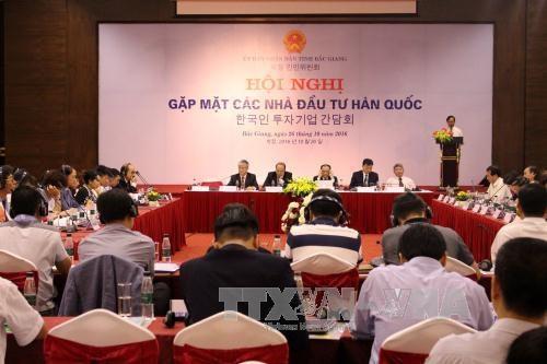 Bac Giang cherche a attirer l'investissement des entreprises sud-coreennes hinh anh 1