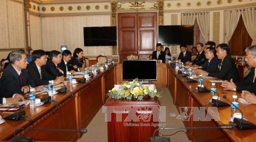 HCM-Ville et la prefecture japonaise de Nagano promeuvent leur cooperation economique hinh anh 1