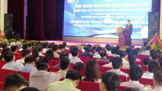 Hai Phong accueille la 17e Assemblee generale annuelle de l'IAMU hinh anh 1