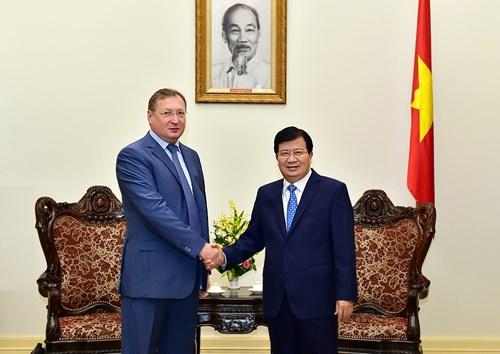 Gaz et petrole : favoriser au maximum la cooperation vietnamo-russe hinh anh 1