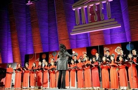 Concert : retour a Ho Chi Minh-Ville du chœur Que huong hinh anh 1