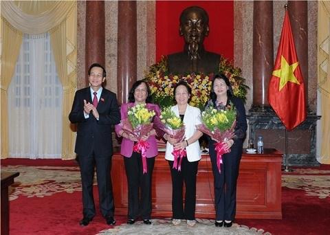 Nouvelle presidente du Conseil de patronage du Fonds national pour les enfants vietnamiens hinh anh 1