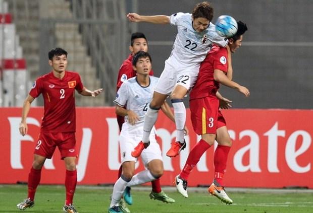 Championnat U19 d'Asie : le Vietnam perd devant le Japon hinh anh 1