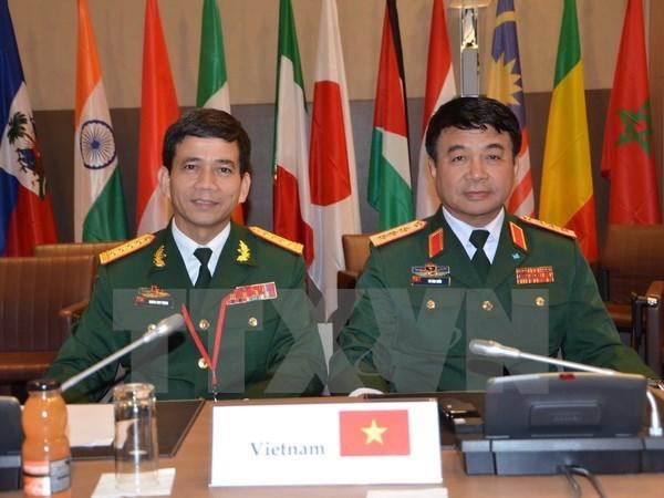 Le Vietnam a la Reunion ministerielle sur le maintien de la paix en environnement francophone hinh anh 1