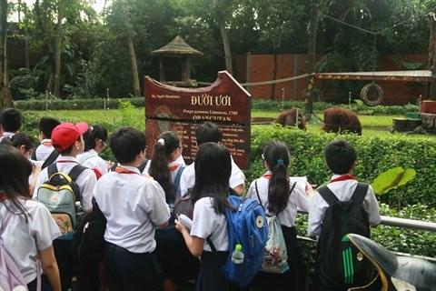 Lecons en plein air a Ho Chi Minh-Ville hinh anh 1