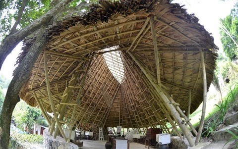 Une maison en bambou a Hoa Binh gagne deux prix americains hinh anh 1