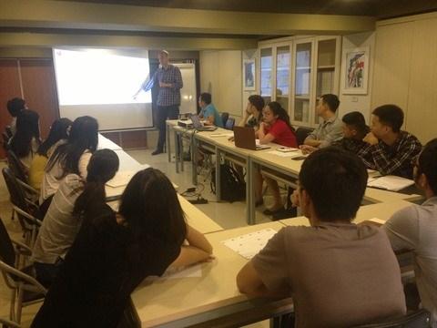 L'AUF developpe l'esprit entrepreneurial chez les etudiants hinh anh 1