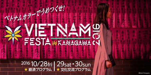 La Fete Vietnam Festa 2016 a Kanagawa (Japon) hinh anh 1