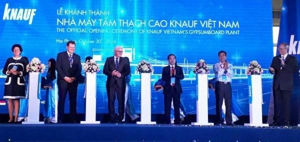 Une usine de plaques de platre de 30 millions d'euros voit le jour a Hai Phong hinh anh 1