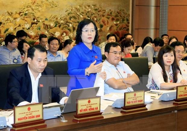 Des electeurs souhaitent un changement positif dans la restructuration economique hinh anh 1