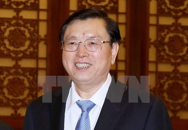 Le president du Comite permanent de l'Assemblee populaire nationale chinoise visitera le Vietnam hinh anh 1