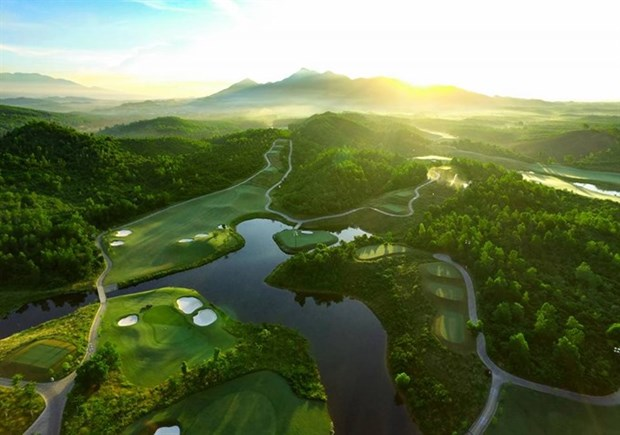 Ba Na Hills Golf Club recoit deux «Asian Golf Awards» hinh anh 1