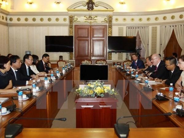 L'UE s'engage a cooperer avec Ho Chi Minh-Ville sur la securite alimentaire hinh anh 1