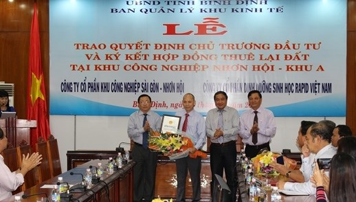 Binh Dinh: trois nouveaux projets de 570 milliards de dongs autorises hinh anh 1