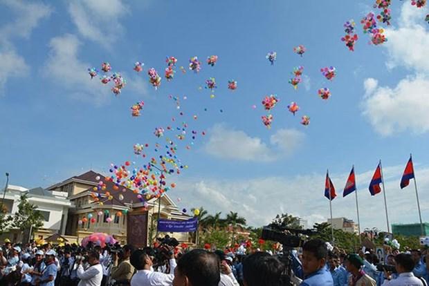 Le Cambodge celebre le 63e anniversaire de sa fete nationale hinh anh 1