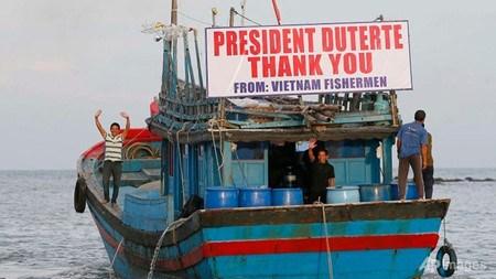 Lettre de remerciement au president philippin pour la liberation des 17 pecheurs vietnamiens hinh anh 1