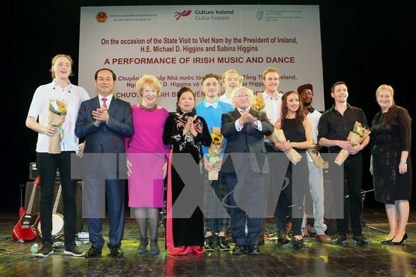 Celebration des 20 ans des relations Vietnam-Irlande hinh anh 1