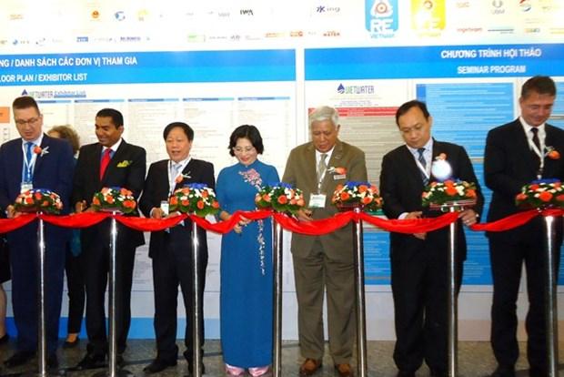 Des entreprises de 38 pays a la 8e foire-exposition Vietwater hinh anh 1