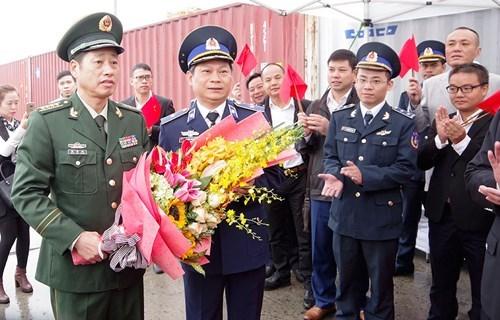 Le navire 46305 des Garde-cotes chinoises a Hai Phong hinh anh 1
