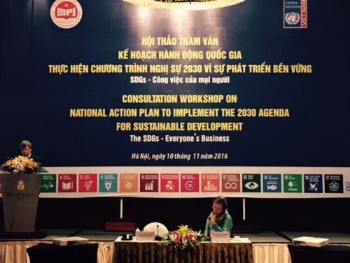 Le Vietnam est pret a repondre a l'Agenda 2030 des Nations Unies hinh anh 1
