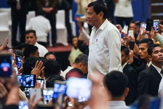 Le president philippin en visite en Malaisie hinh anh 1