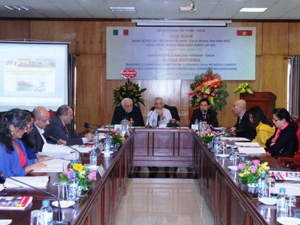Renforcement de la cooperation et de l'amitie Vietnam-Italie hinh anh 1