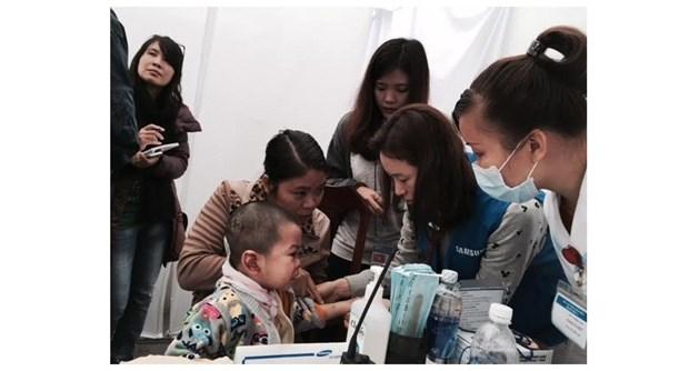 Des volontaires sud-coreens vont a Thai Nguyen hinh anh 1