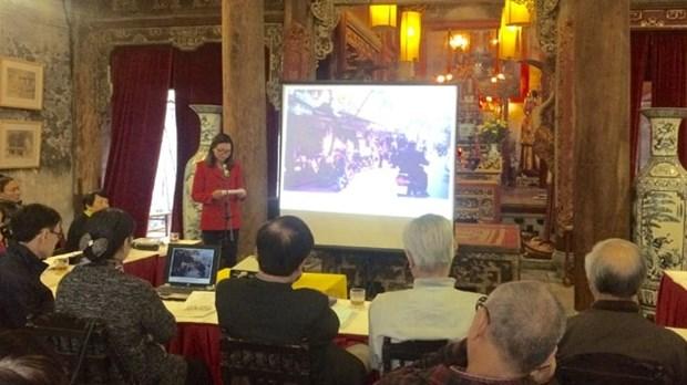 Une conference sur la promotion des valeurs culturelles du Vieux quartier de Hanoi hinh anh 1